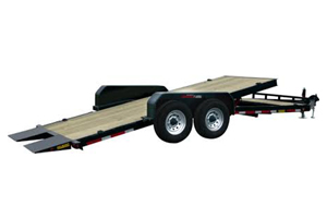 14k GVW double axle tilt deck, ball size 2 5/16""