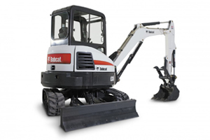 "Bobcat 35 w/ 12"", 20"", 24"" or 36"" Bucket"