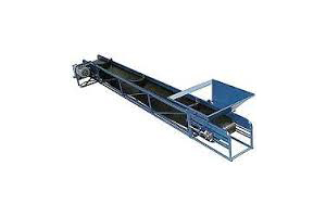 Conveyor, Clairco 20 ft electric dirt conveyor