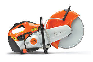Demolition saw Stihl TS420 w/ Concrete cutting blade