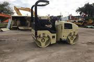 Ingersol Rand ride on Vibratory Roller