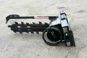 """MT52 4"""" Trencher"""