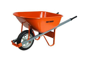 Wheel Barrow 5.5 Cu Ft Single Wheel