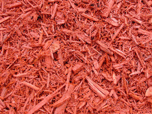 Red Mulch $32.00/cu. yd.